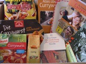 Currywurst-Buchpaket Uwe Timm 'Die Entdeckung der Currywurst'