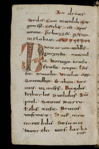 Mittelalter-Codex-Abrogans