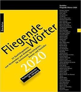 Postkartenkalender mit Gedichten für 2020